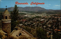 Riverside, California, From the Summit of Mt. Rubidoux