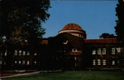 Administration Building, Chico State College Postcard