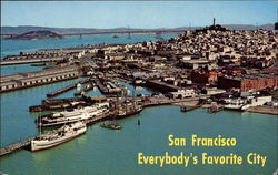 Aerial View of San Francisco-Everybody's Favorite City