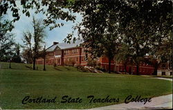 Health, Physical Education & Recreation building, Cortland State Teachers College