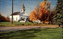 Typical New England Meeting House