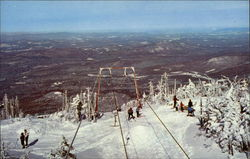 Upper T Bar - Summit of Cannon Mountain