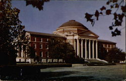 Dallas Hall, Southern Methodist University Postcard