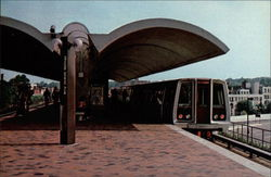Washington, D.C. Metro Postcard