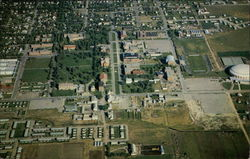 Aerial View of Montana State College Campus