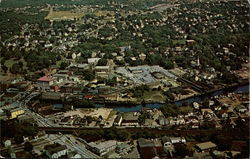 Air View of Westerly, R.I. and Pawcatuck, Conn