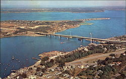 Sakonnet River Bridge connecting Tiverton and Portsmouth