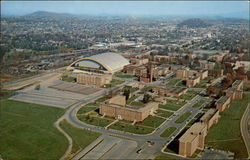 Aerial View of East Tennessee State University