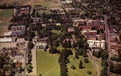 Oregon State University, Aerial View