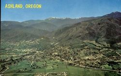 Ashland, Oregon as Seen From the Air