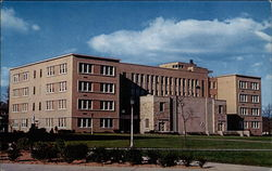 McNulty Hall, Science Building. Seton Hall University Postcard