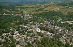 Aerial View of Newton, Sussex County