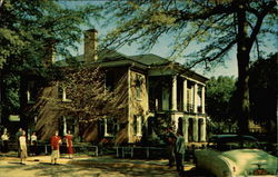 Gorgas Home Located on the University of Alabama Campus Postcard