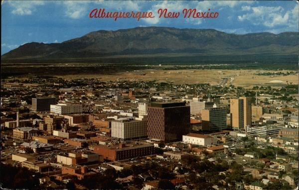 The Ever-Changing Skyline of this, The Largest City Albuquerque New Mexico