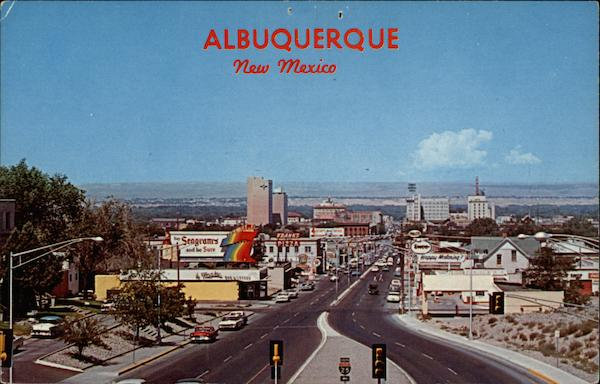 Albuquerque skyline New Mexico