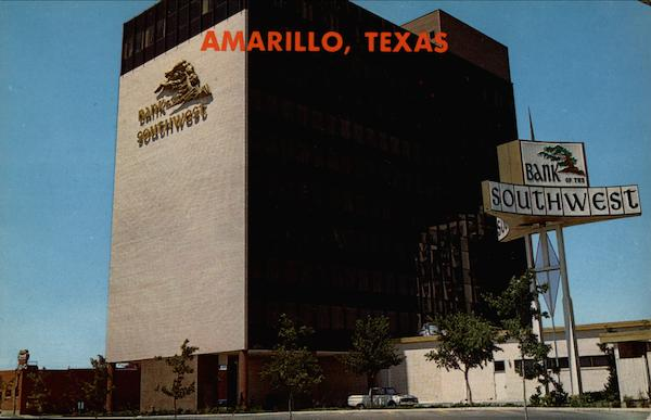 Bank of the Southwest Building Wolflin Village Amarillo Texas