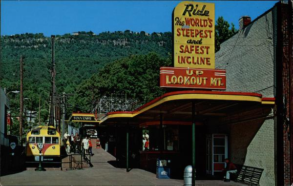 Incline Station, Lookout Mountain Chattanooga Tennessee