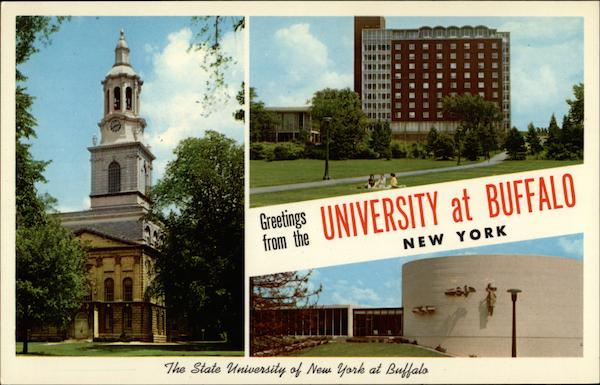 Views of State University of New York Campus Buffalo