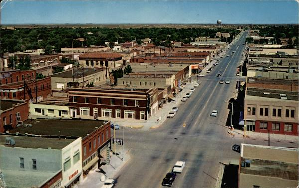 K430- Business Section, Looking North Clovis New Mexico