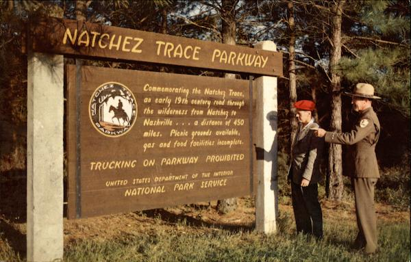 Natchez Trace Parkway Tennessee Hubert A Lowman