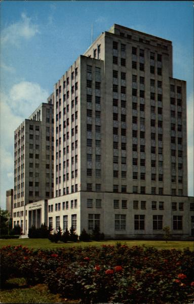 E.T. Woolfolk State Office Building Jackson Mississippi