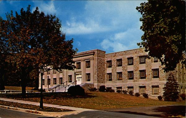 Mount Saint Mary's College, College Library Emmitsburg, MD