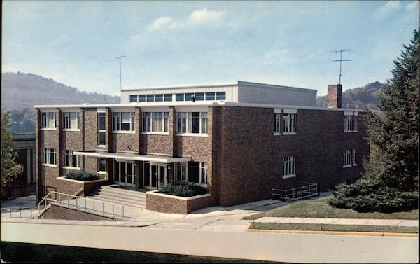 Student Union and Cafeteria, Glenville State College West Virginia