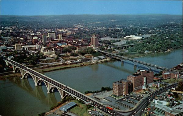 Aerial View of Knoxville Tennessee