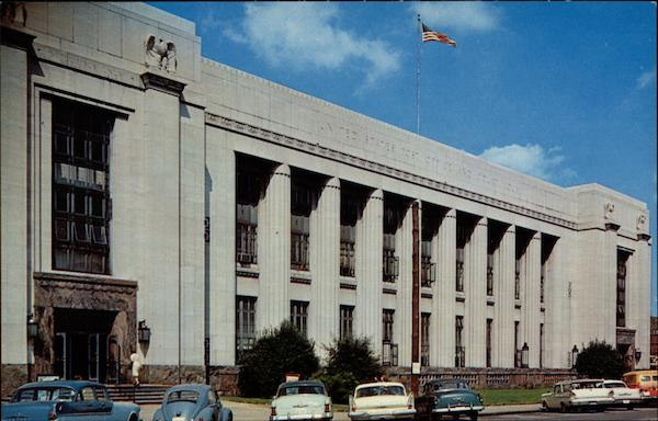 United States Post Office and Court House, Main Street Knoxville Tennessee