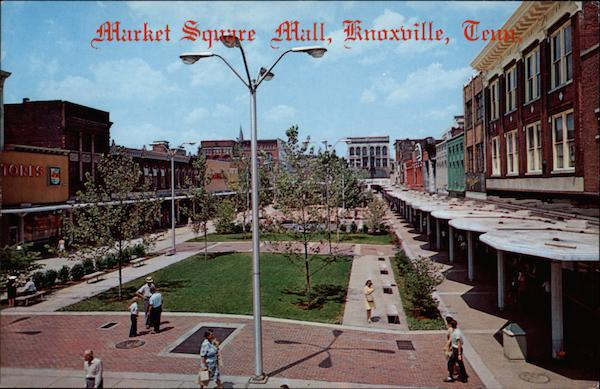 The Market Square Mall Knoxville Tennessee