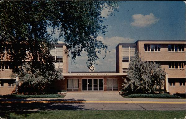 Carruth-O'Leary Hall, Dormitory for Men, University of Kansas Lawrence