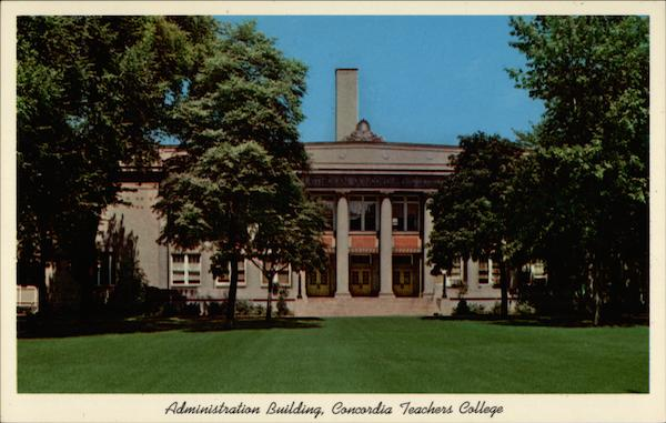 Administration Building, Concordia Teachers College River Forest Illinois