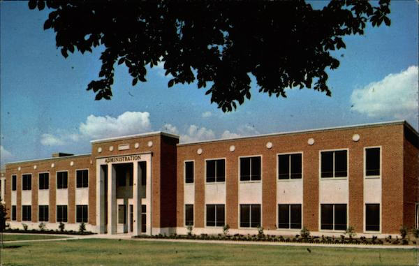 Administration Building, East Central State College Ada Oklahoma