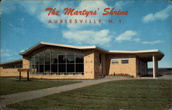 The Martyrs' Shrine Auriesville New York