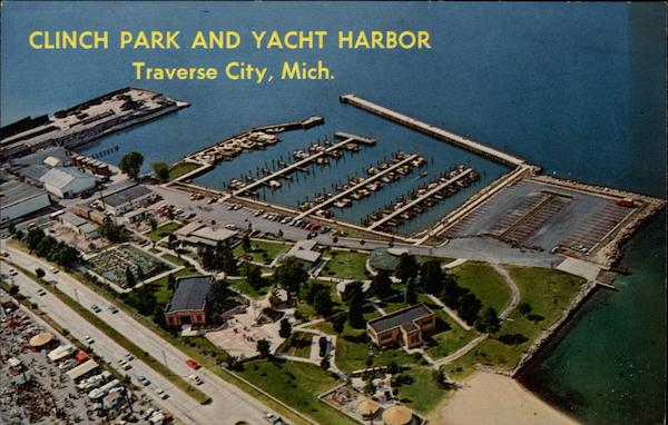 Clinch Park and Yacht Harbor Traverse City Michigan
