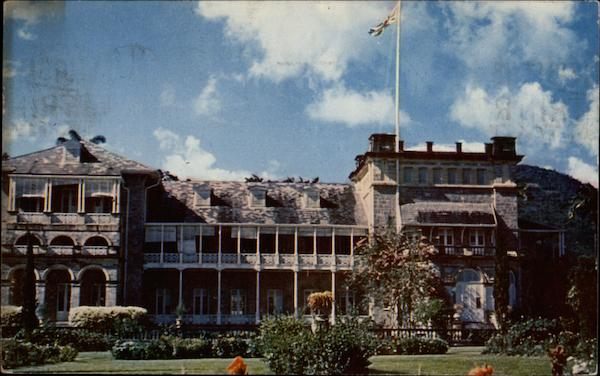 Government House Port of Spain Trinidad & Tobago Caribbean Islands