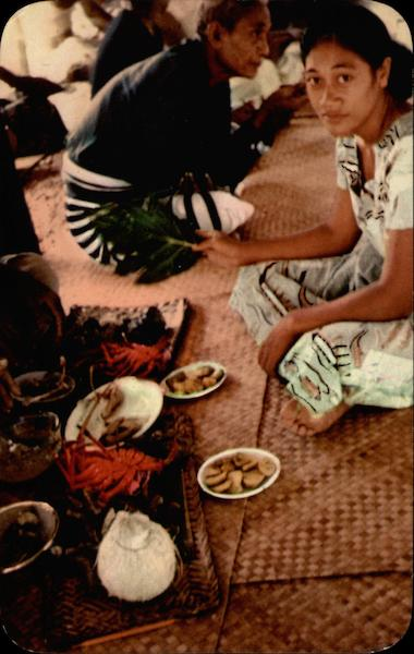Samoas traditional food recipes