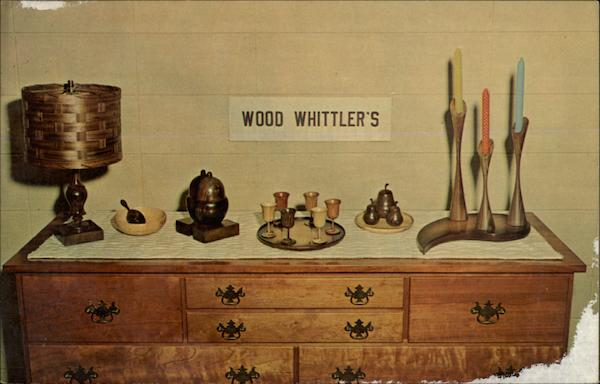 The Wood Whittler's Finest Wood Articles Advertising