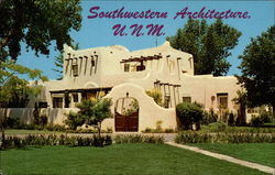Southwestern Architecture, President's Residence, University of New Mexico