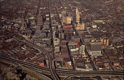 Bird's-Eye View of Buffalo's Business District