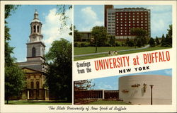 Views of State University of New York Campus