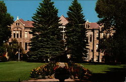 Old Main, Home of University of Wyoming Administrative Offices
