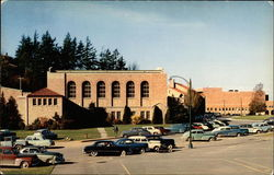 Physical Education Building at Western Washington College