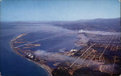 Aerial View of Port Angeles