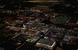 Aerial View of Enterprising Young City