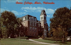 Dana College Old Main Postcard