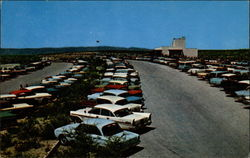 Parking Terrace and Visitors Center- Carlsbad Caverns National Park
