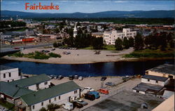 Fairbanks, on the Chena River
