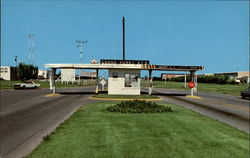 Main Entrance to Grand Forks Air Force Base