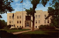 Walsh County Court House Postcard